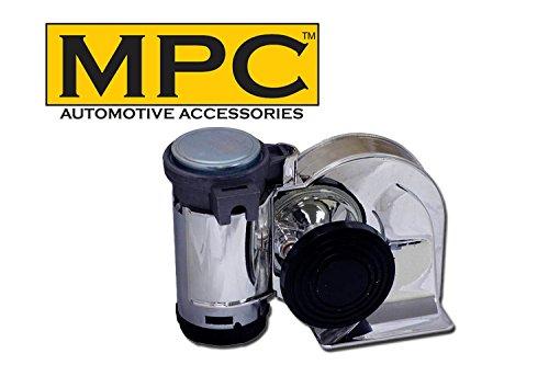 Preisvergleich Produktbild einteiligen chrom Motorrad / Auto Air Horn – einfach zu installieren.