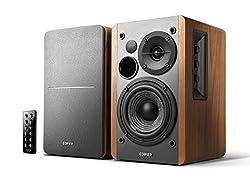EDIFIER Studio R1280DB - 2.0 Bluetooth-Lautsprechersystem (42 Watt) mit Infrarot-Fernbedienung - perfekt für TV, PC, Notebook, Tablet, Smartphone etc.