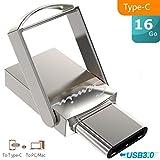SEMIN Clé USB 3.0 2-en-1 128 Go Type-c OTG USB3.0 pour téléphone & PC 128 GB Mini...