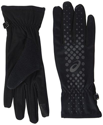 Asics Herren Winter Performance Handschuhe, Performance Black, M (Running Asics Handschuhe)