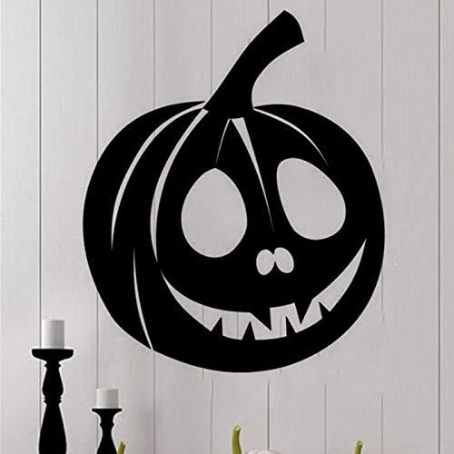 r Happy Halloween Hintergrund Wandaufkleber Horror Kürbis Muster Fenster Wandtattoo Dekor Schlafzimmer Romantik Wohnzimmer Tapete ()