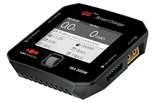 SMART CHARGER Q6 Plus DC 300W 16A LC-Farbdisplay