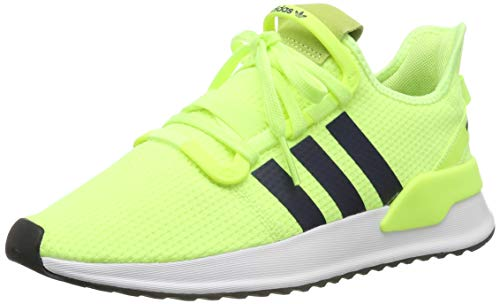 adidas Herren U_Path Run Laufschuhe, Mehrfarbig (Hi-Res Yellow/Collegiate Navy/FTWR White G27643), 40 2/3 EU