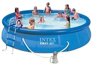 Piscina 56414 intex easy set tonda 457x91 - Amazon piscina bambini ...