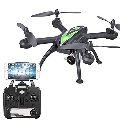 LFLWYJ Drone, Fotografía Aérea De Alta Definición, Aviones De 4 Ejes, Aviones De Altura Fija con Presión De Aire, Aviones De Control Remoto Defensivos (Color : Verde)