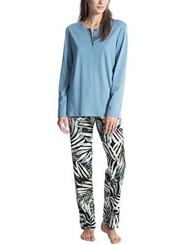 Calida Damen Sweet Dreams Zweiteiliger Schlafanzug aus Baumwolle mit weichem Griff