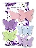 5er-Set Klebenotizzettel »Schmetterling« -