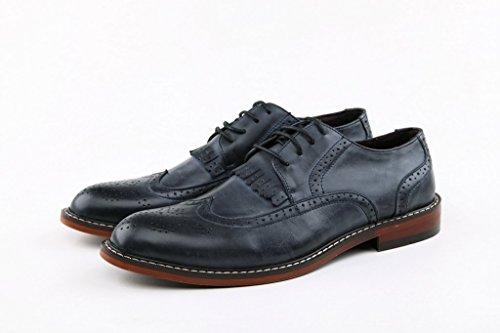 Minitoo , Chaussures à lacets homme Bleu - bleu