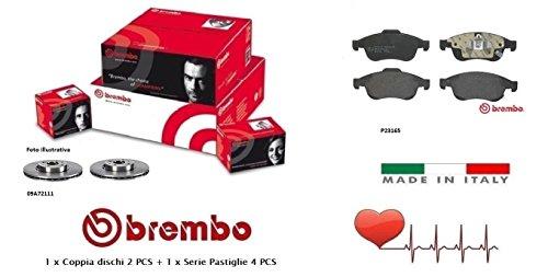 09A72111-P23165 Kit Dischi e Pastiglie Freno Anteriori Brembo