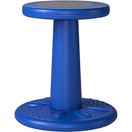 Active Chair by Studico – Beweglicher Stuhl für Kinder der Altersgruppe 3-6 Jahre – 35,5cm Höhe – Blau