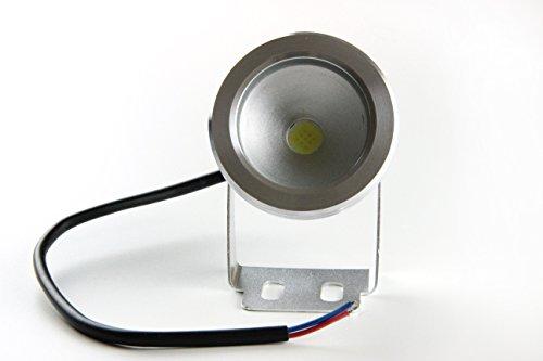 Bloomwin® 2er/Pack 12V 10W Kaltweiß Teichlampen IP68 Poolbeleuchtung Teichbeleuchtung Unterwasserbeleuchtung Led