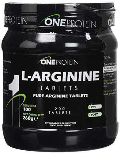 One Protein Integratore Alimentare di L arginina 200 Compresse
