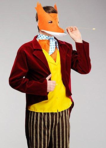 Kostüm Fox Fantastisch - Magic Box Int. Adult Size Roald Dahl Fantastisches Herr Fox Kostüm Large (42-44