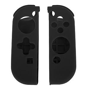 Demiawaking Gamepad Schützende weiche Silikon Schutzhülle Abdeckungs Haut Gehäuse Deckel für Nintendo Gaming Console Switch