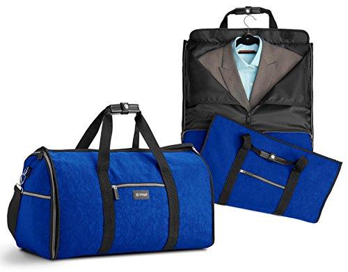 7bdd0fc33612f Biaggi Luggage Unisex-Erwachsene Hangeroo Two-in-one Garment Bag + Duffle  Seesack
