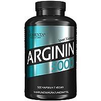 Preisvergleich für BIOMENTA L-ARGININ VEGAN 5000 | 500 L Arginin Kapseln HOCHDOSIERT | SUPER Preis-Leistungsverhältnis