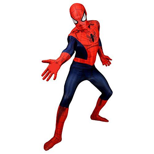 er Spiderman, Verkleidung, Kostüm - XX-Large 6'2 - 6'9 (186cm - 206cm) (Spiderman Kostüm Bodysuit)