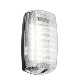 Saxby Avit Outdoor Bulkhead Wall LED Light IP44 220-240V