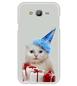 PrintVisa Surprise Gifts For Cat High Gloss Designer Back Case Cover for Samsung Galaxy J5 (2015) :: Samsung Galaxy J5 Duos :: Samsung Galaxy J5 J500F :: Samsung Galaxy J5 J500FN J500G J500Y J500M