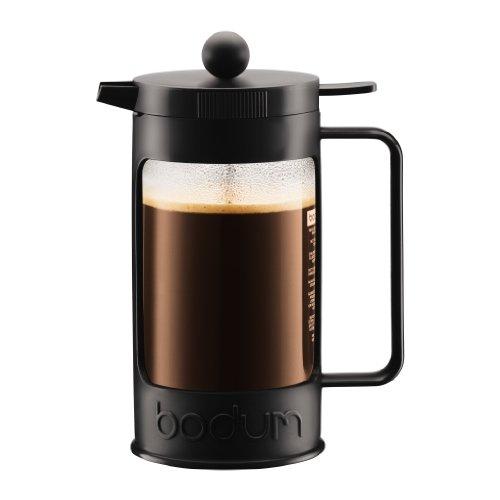 Bodum BEAN Kaffeebereiter für 8 Tassen (Press Filter System, Isoliert, Auslaufschutz, 1,0 liters)...