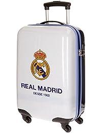 Maleta Cabina ABS Real Madrid 4 Ruedas 55 cm