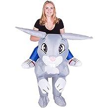 Bodysocks Disfraz Hinchable de Conejo Adulto