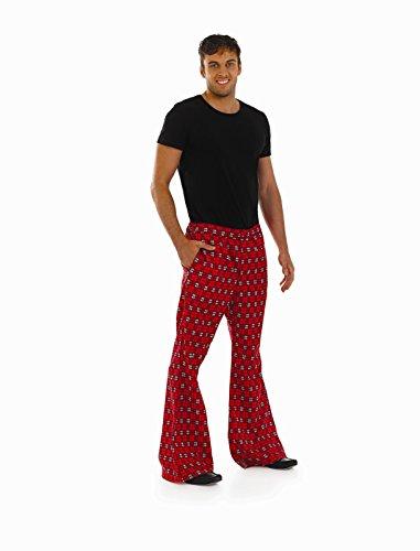 Schottland Fancy Kostüm Dress - Herren Tartan Hose Kostüm für Schottland Jock Fancy Kleid Erwachsene männlich extra große