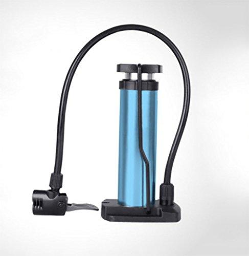 RUIX Hochdruck Standpumpe (Fahrradpumpe, Luftpumpe Für Fahrrad Und Für Luftmatratze) Hochdruck Standpumpe ,Blue