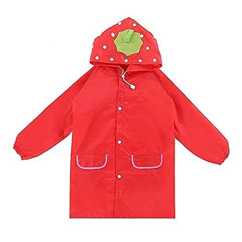 Le manteau de pluie de dessin animé pour enfants, Chickwin