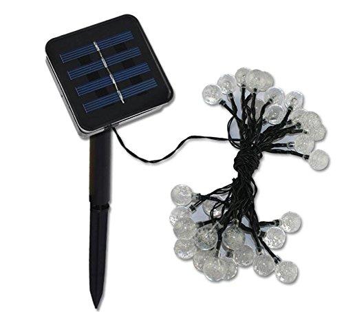 solar string lights garden globe lights waterproof 6 metre