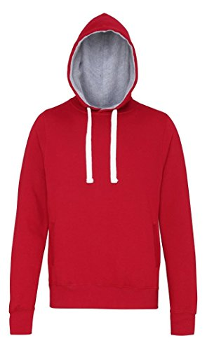 AWDis Hoods -  Felpa con cappuccio  - Uomo Red Hot Chilli