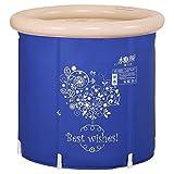 SESO UK-Tub Faltende Badewanne-tragbares aufblasbares Badhauptplastikfaß, Badewanne des Sommer bequemen Massage-Badekurortkindes