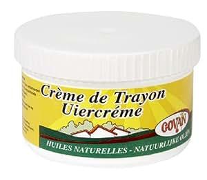 GOVAN Crème de Trayon : 300ML. A Base De Lanoline ET Huiles Naturelles. Légèrement et naturellement parfumée. (Crème de soin pour usage quotidien)