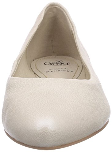 Caprice - 22107, Ballerine Donna Grigio (Grau (PLATIN METALL/991))