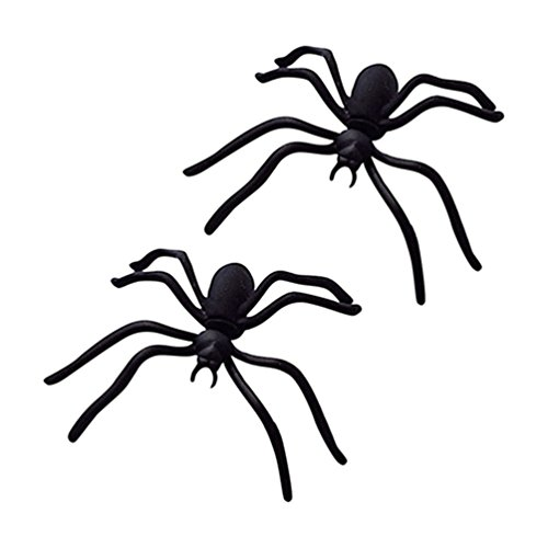 Sanwood Damen Halloween Spider Ohr Ohrstecker Punk Stil Ohrring Schmuck