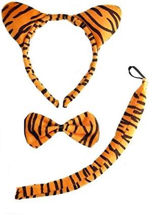 COOLMP Lot de 12 - - - Set déguiseHommes t de Tigre 1a3898
