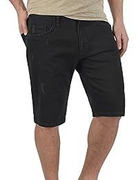 Redefined Rebel Mumbai Chino Pantalón Corto Bermuda Pantalones De Tela para Hombre con Cinturón De 100% Algodón Regular-Fit