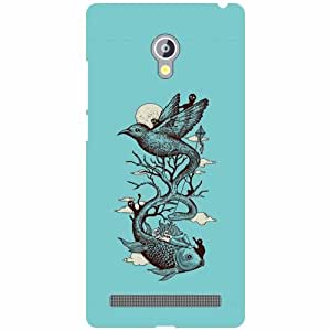 Asus Zenfone 6 A601CG Back cover - Blue Soother Designer cases