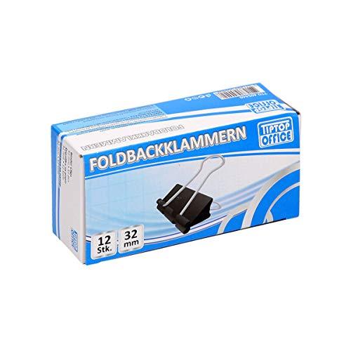 TTO Foldbackklammern 32mm, 12/1