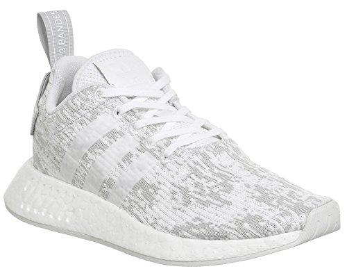 adidas Nmd_r2 W, Sneaker a Collo Basso Donna Bianco