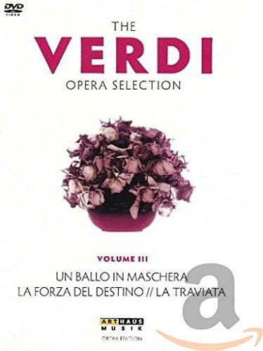 The Verdi Opera Selection Vol. III [4 DVDs]