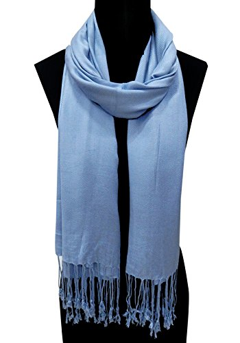 URBAN TRENDZ - Viscose Solid dyed Scarf - Stole - Dupatta-Shawl with...