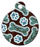 Dog Tag Art DTA-4326 Java Paisley Dog ID Tag - Large