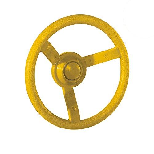 WICKEY Lenker Lenkrad Steuerrad für Spielturm Spielanlage, Ø300mm, gelb