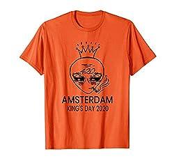 Amsterdamer Königstag Oranje T-shirt-Marihuana Weed 420 T-Shirt