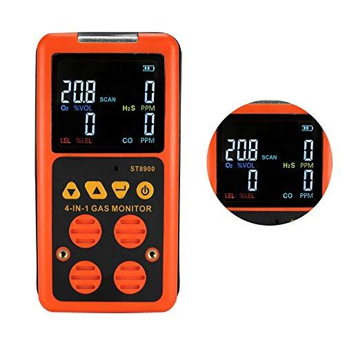 Gasdetektoren Erdgasdetektoren Gaslecksucher CO H2S O₂ UEG-Sensor Tester Tragbarer Tester für brennbare Gase