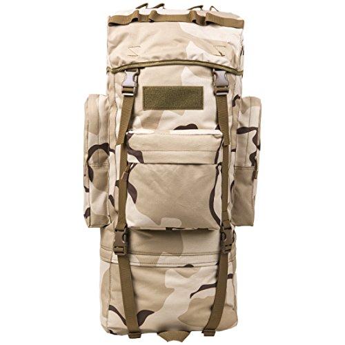 LF&F Backpack Camping outdoor Zaini Borse 60L / 100L zaino all'aperto di grande capacità maschio e femmina universale zainetto tattico del camuffamento alpinismo escursioni bagagli da campeggio A2