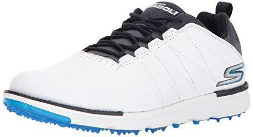 Skechers GO Golf Elite V.3 Zapatos de Golf para Hombre 45 EU, Blanco