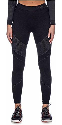 Musto Womens Active Base Layer Schichten für Segeln & Skifahren - Hose Schwarz mit Wärmeisolierung. Atmungsaktiv -