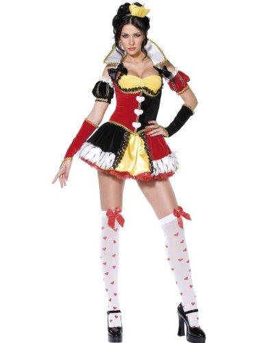 Kostüm Raffinierte Herzkönigin Gr. S = 38 (Queen Kostüme Kit)